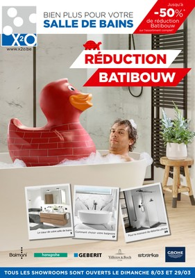 Réduction Batibouw